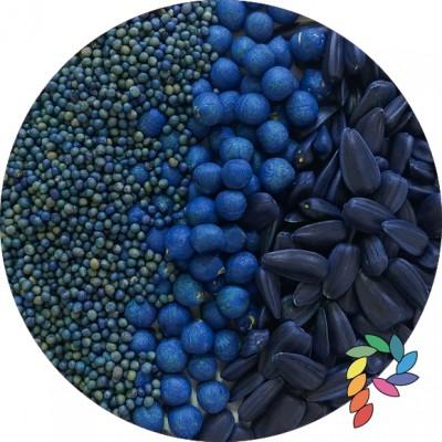 Синій перламутровий